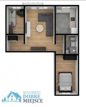 Mieszkanie Bydgoszcz - Błonie 3-pokojowe