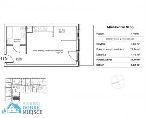 Mieszkanie Bydgoszcz - Okole 2-pokojowe